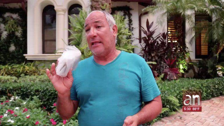 Habla cubano que lo perdió todo en su residencia de las Bahamas tras el paso de Dorian