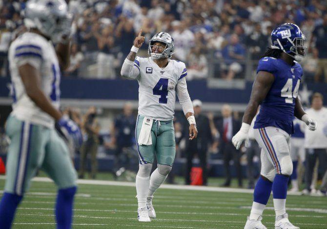 Prescott y Moore, una pareja perfecta para los Cowboys
