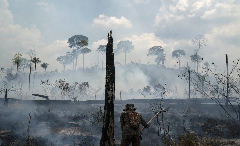 Registran aumento en contaminación por incendios en Amazonía