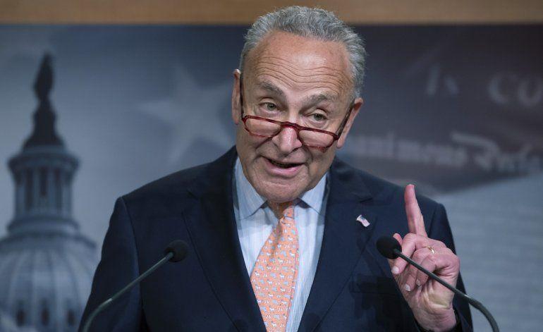 Demócratas tratarán de evitar desvío de fondos para muro