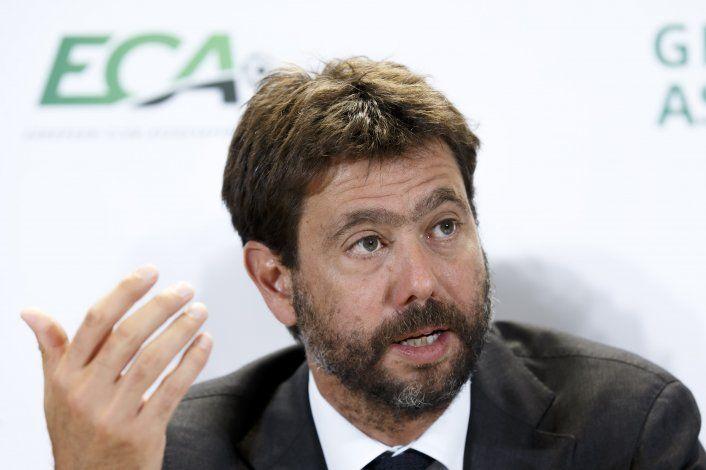 Agnelli insiste en reforma de la Liga de Campeones