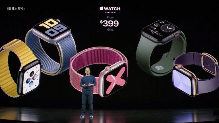 Apple Watch Series 5: pantalla siempre visible y otras novedades