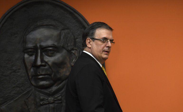 México dice que Trump agradece esfuerzo migratorio