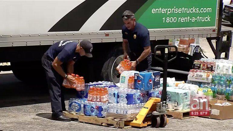 Continúan las donaciones para los damnificados de Bahamas