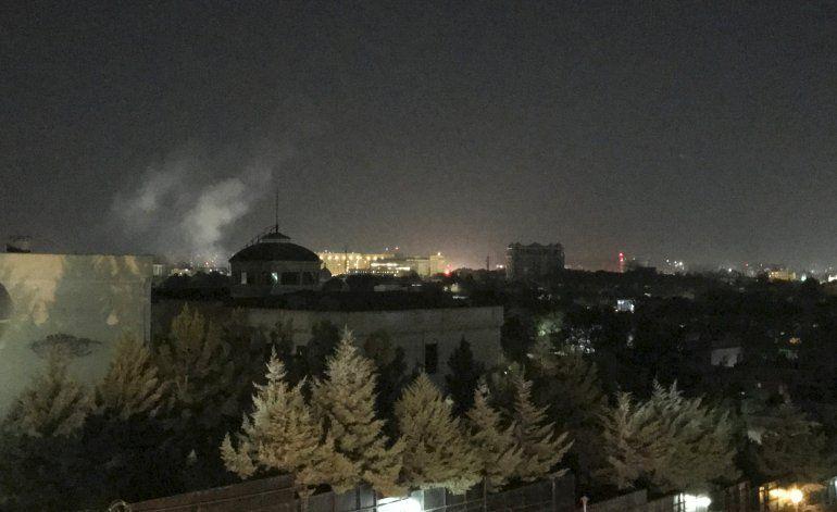 Cohete explota en embajada de EEUU en Afganistán