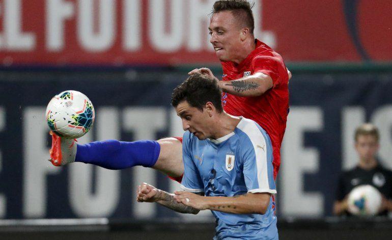 Gol de Morris rescata empate de EEUU ante Uruguay