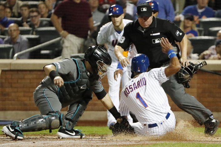 Wilson respalda a Wheeler y Mets superan 3-2 a Diamondbacks