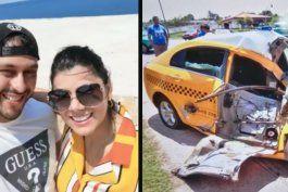 pareja colombiana que viajo a cuba para casarse sufre grave accidente camino a varadero