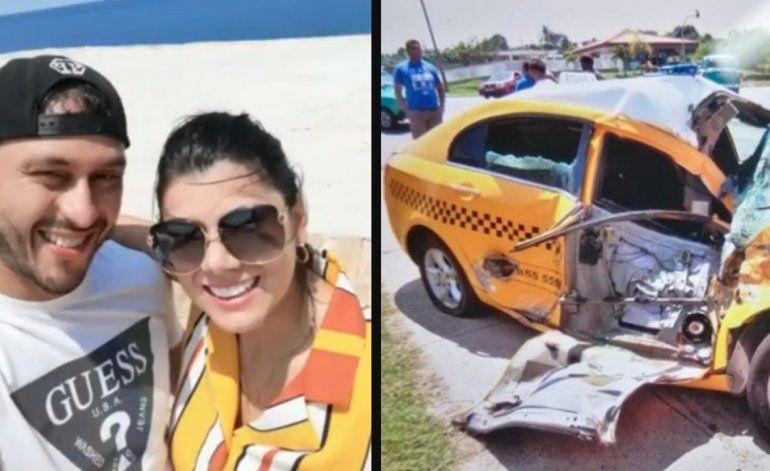 Pareja colombiana que viajó a Cuba para casarse sufre grave accidente camino a Varadero