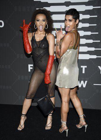 Big Sean, Halsey, Migos animan show de lencería de Rihanna