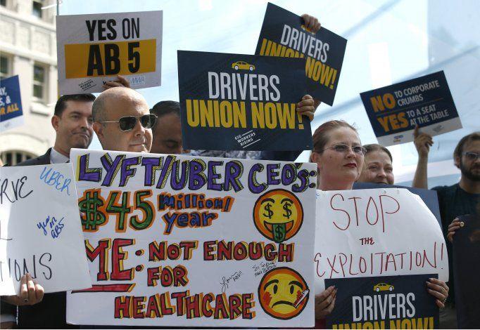 California: Avanza ley que regularía empleo en Uber y otros