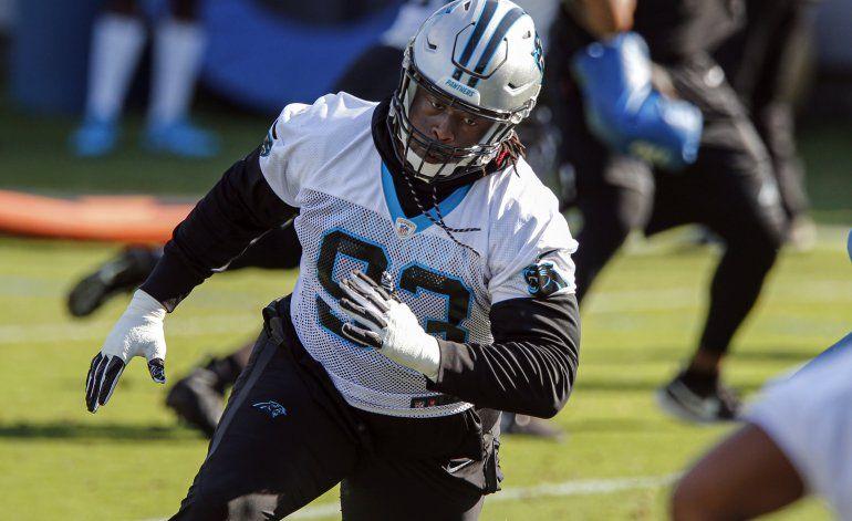 McCoy, ahora con Panthers, enfrenta a Bucs