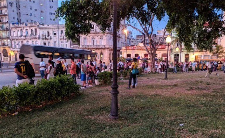 Caos en La Habana:  amanece sin transporte público