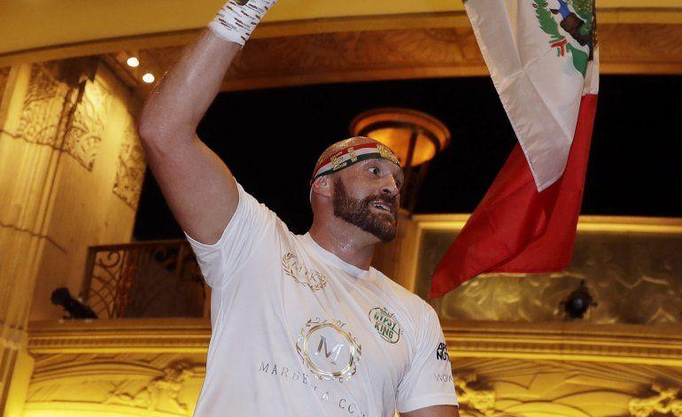 El 'mexicano' Fury enfrenta a enigmático sueco Wallin
