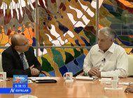 diaz-canel anuncia en television nacional una grave crisis en todo el pais