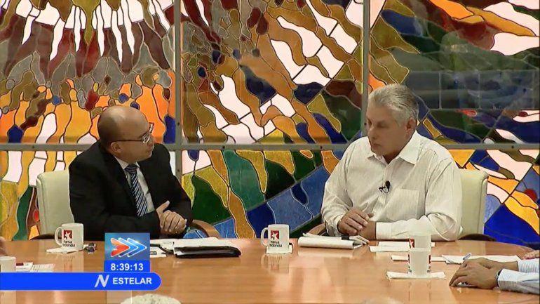 Díaz-Canel anuncia en televisión nacional una grave crisis en todo el país
