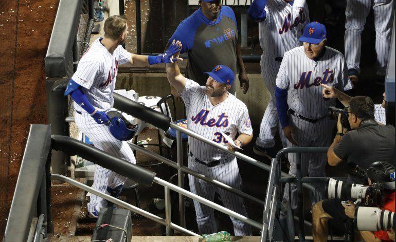 Frazier y McNeil pegan 2 jonrones cada uno; Mets ganan