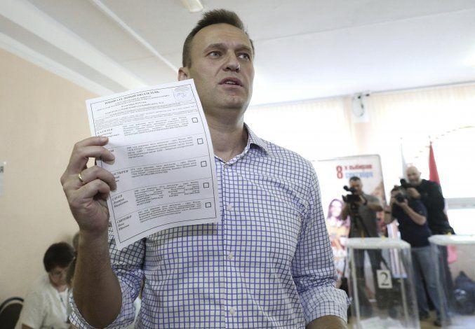 Allanan viviendas de opositores en 43 ciudades rusas