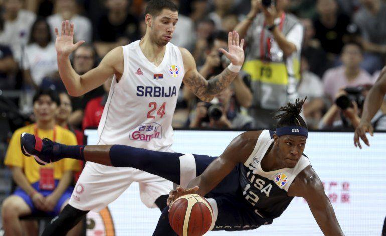EEUU cae ante Serbia en mundial, en su peor puesto final