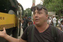 cubanos opinan sobre la crisis en el transporte publico