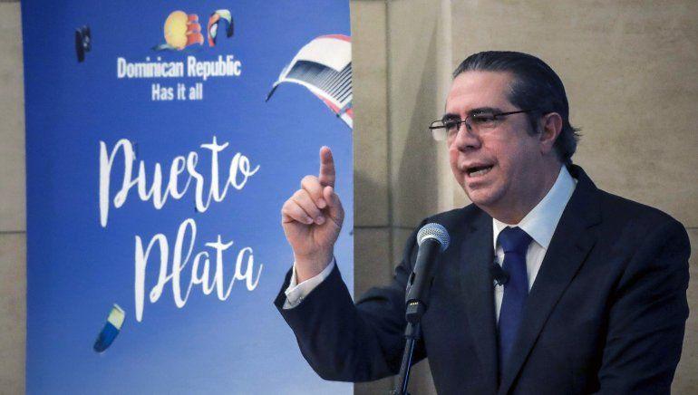 Ministro dominicano de turismo promueve seguridad de su país