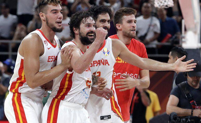 España vence a Australia en Mundial y avanza a la final