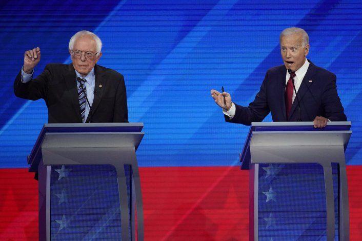 Análisis: Biden luce a veces como favorito, a veces no
