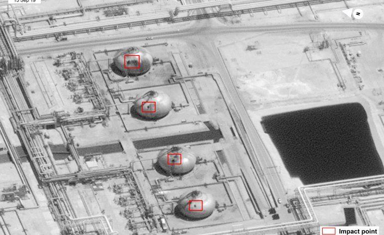 Estados Unidosdenunció que Irán atacó las refinerías sauditas para dañar la economía mundial
