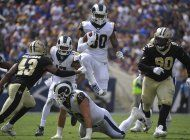 brees sale lesionado en derrota de saints ante rams