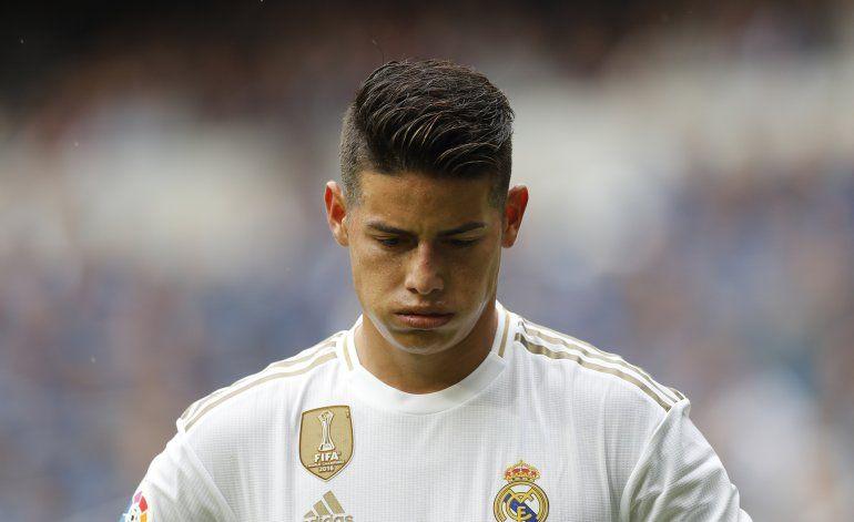 James tiene segunda oportunidad con Real Madrid