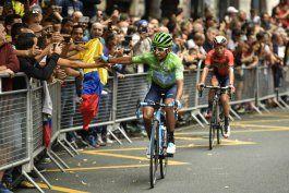 bernal renuncia a liderar a colombia en el mundial de ruta