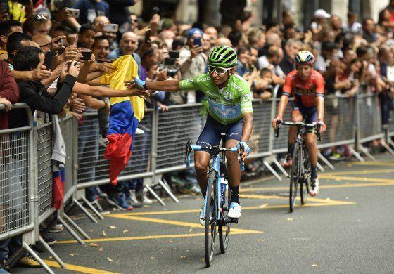 Bernal y Quintana lideran grupo colombiano a Mundial de Ruta
