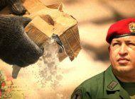 revelan planes de chavez para inundar a estados unidos de cocaina