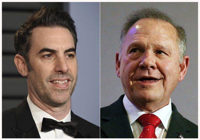 Baron Cohen pide a juez que desestime demanda de Moore
