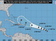 una nueva depresion tropical se forma en el atlantico y podria transformarse en huracan