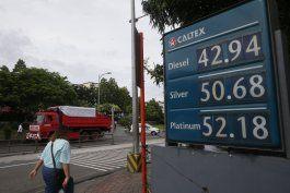 preven que precio de gasolina no afecte economia de eeuu