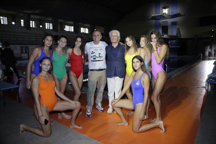 Benetton causa sensación la víspera de la Semana de Milán
