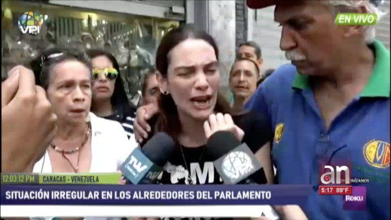Juan Guaido respaldo protesta de profesores