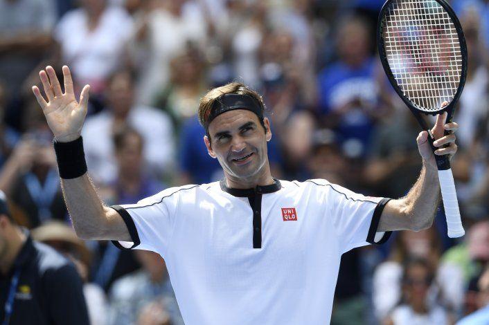 Federer jugará duelos de exhibición en Colombia y Argentina