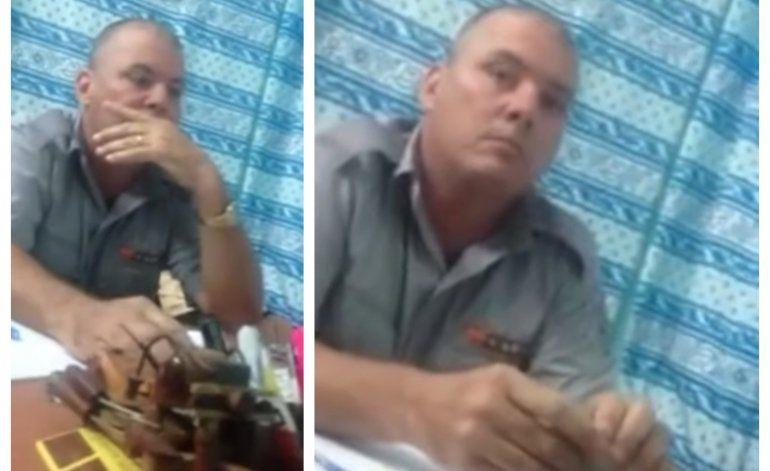 Cubano graba interrogatorio tras ser arrestado por caminar en varadero con su novia extranjera