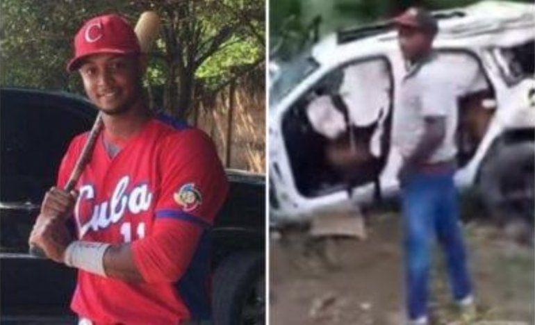 Fallece pelotero cubano Andy Pacheco en accidente de tránsito en Dominicana