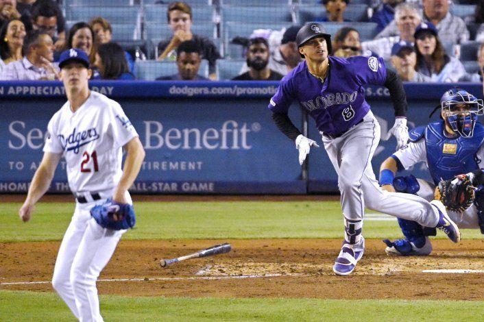 Los Rockies derrotan a los Dodgers 4-2