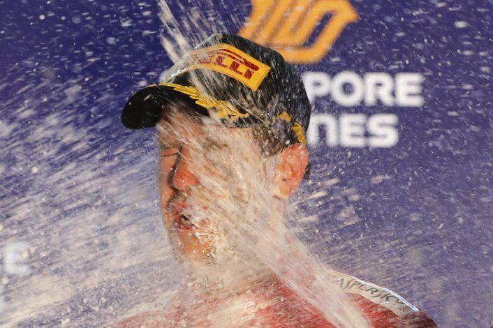 Vettel rompe sequía; Ferrari hace 1-2 en Singapur