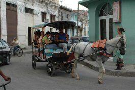 cuba vuelve a la traccion animal en medio de crisis energetica