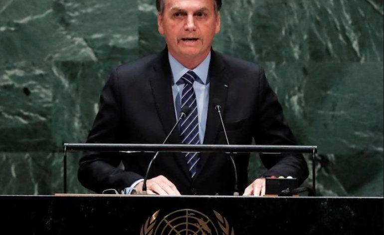 Bolsonaro abre debates de la ONU con fuerte ataque a Cuba y Venezuela