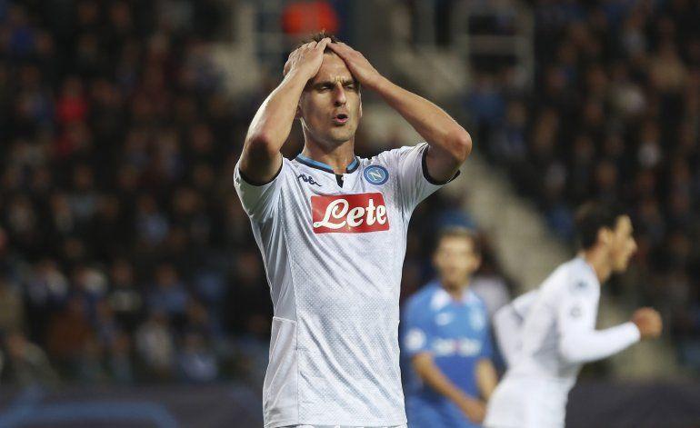 Napoli no pasa del 0-0 en Genk