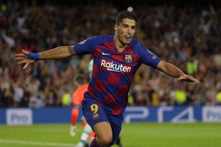 Con doblete de Suárez, Barça remonta y vence a Inter