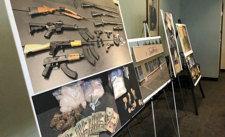 Desmantelan red narcotraficante México-Oregon