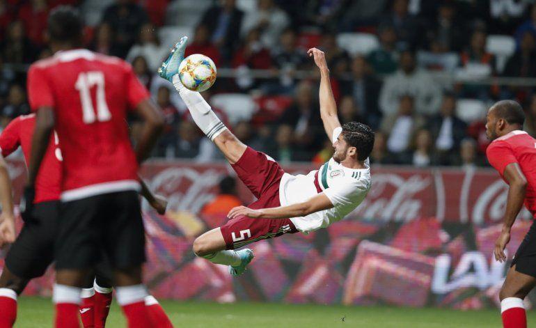 Un juvenil México derrota 2-0 a Trinidad y Tobago