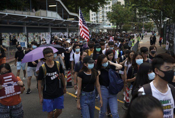 La cuenta regresiva que alienta las protestas en Hong Kong